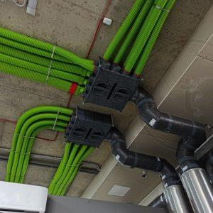 Монтаж вентиляции с рекуператором для дома